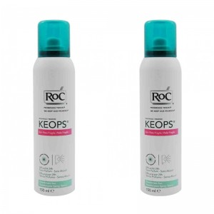 Duo Pack Keops deodorant Spray Dry (150 ml), RoC
