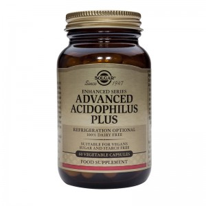 Advanced Acidophilus Plus (60 capsule), Solgar