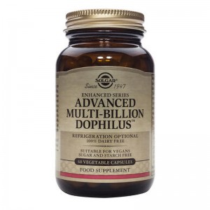 Advanced Multi-billion Dophilus (60 capsule), Solgar