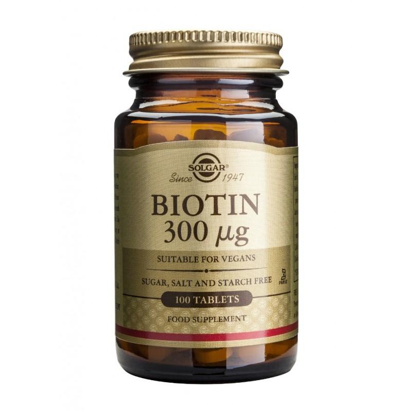 Biotin 300mcg (100 tablete)