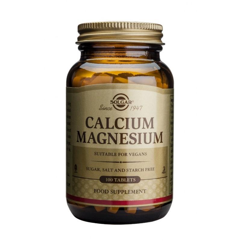 Calcium Magnesium + Zinc (100 tablete)