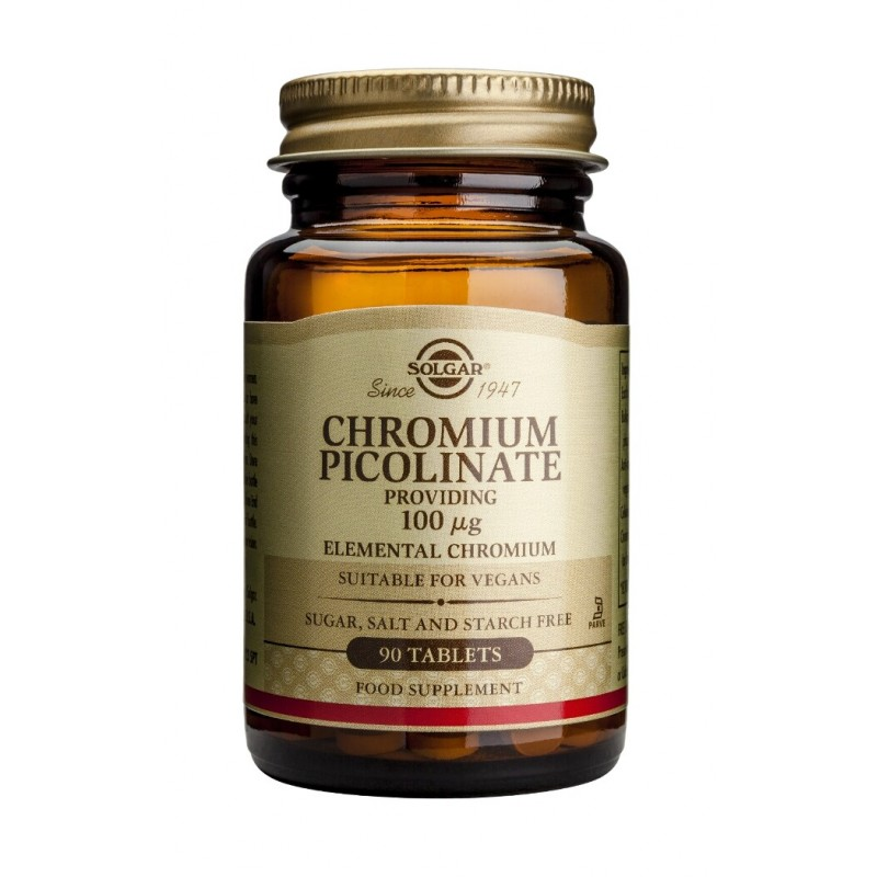 Chromium Picolinate 100mg (90 tablete)