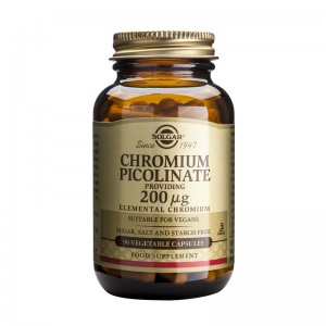 Chromium Picolinate 200ug (90 capsule), Solgar