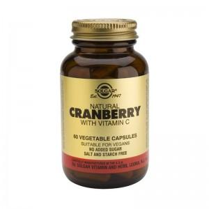 Cranberry Extract cu Vitamina C (60 capsule), Solgar