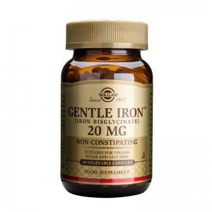 Gentle Iron 20mg (90 capsule), Solgar