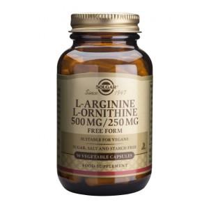 L-Arginine L-Ornithine 500/250mg (50 capsule)
