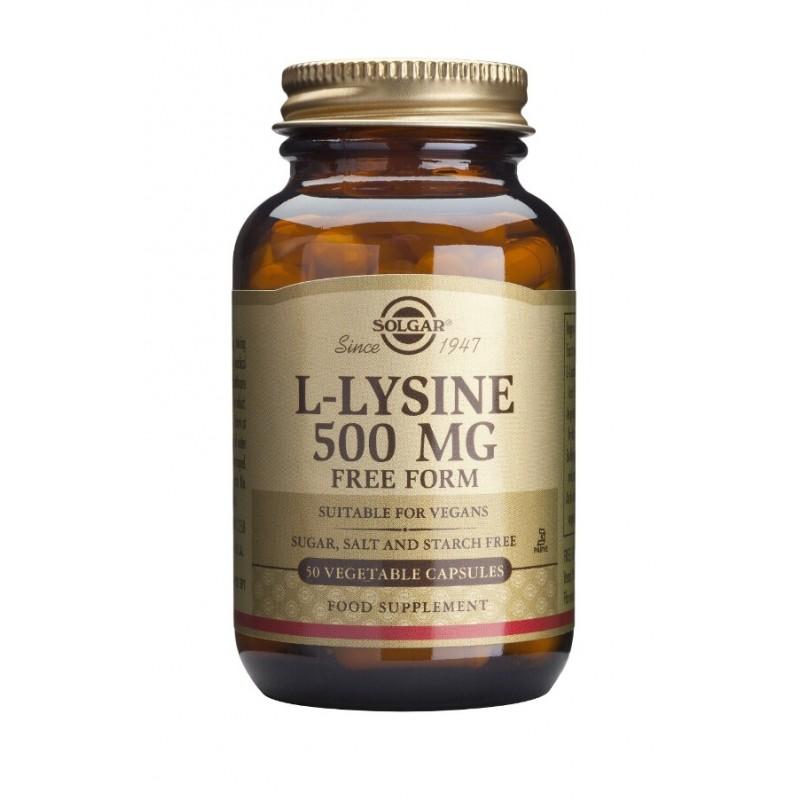 L-Lysine 500mg (50 capsule)