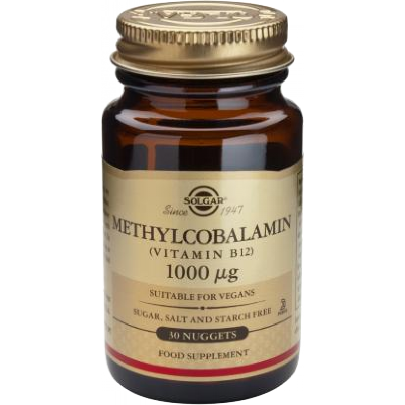 Methylcobalamin  (Vitamin B-12) 1000g (30 tablete)