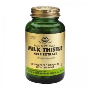 Milk Thistle Herb Extract (60 capsule), Solgar