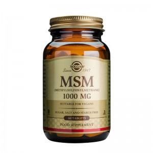 MSM 1000mg (60 tablete), Solgar