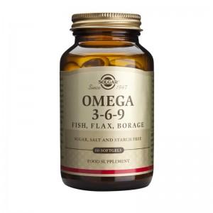 Omega 3-6-9 (60 capsule), Solgar