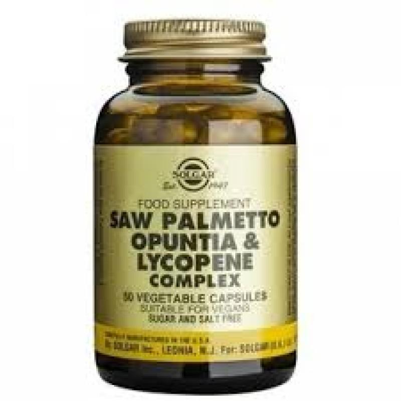 Saw Palmetto Opuntia Lycopene Complex (50 capsule)