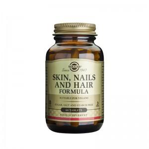Skin Nails and Hair Formula (60 tablete), Solgar