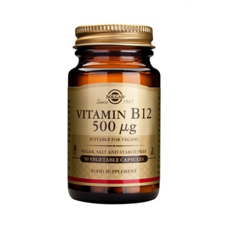 Vitamin B-12 500g (50 capsule)