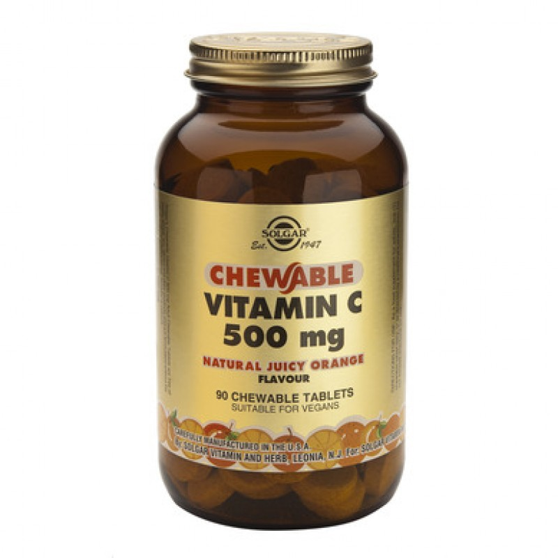 Vitamin C 500mg (90 tablete masticabile)