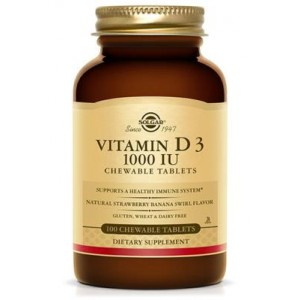Vitamin D-3 1000 IU chewable (100 tablete)