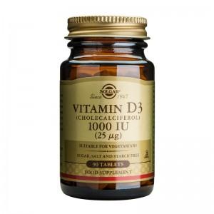 Vitamin D3 1000IU (90 tablete), Solgar