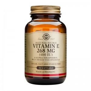 Vitamin E 400IU (50 capsule), Solgar