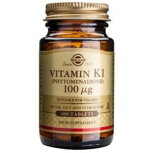 Vitamin K1 100mcg (100 tablete)