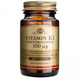 Vitamin K1 100mcg (100 tablete), Solgar