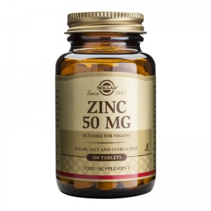 Zinc Gluconate 50mg (100 tablete), Solgar