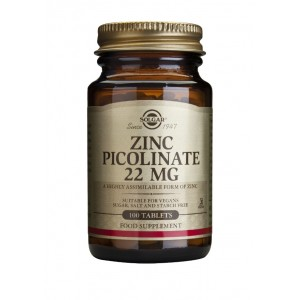 Zinc Picolinate 22mg (100 tablete)