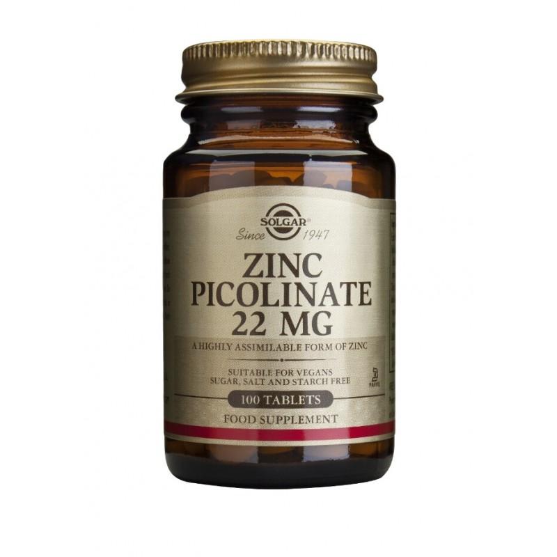 Zinc Picolinate 22mg (100 tablete)