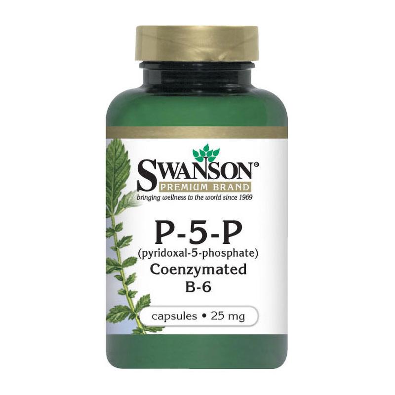 Vitamina B6 Piridoxina 20 mg (60 capsule), Swanson