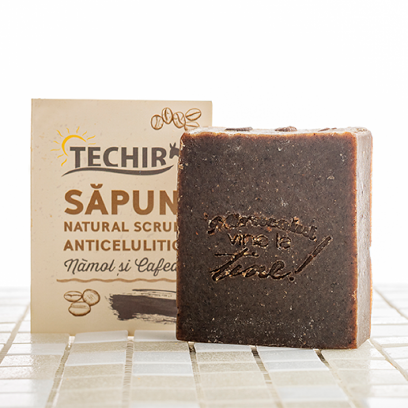 Sapun scrub anticelulitic (100 grame), Techir