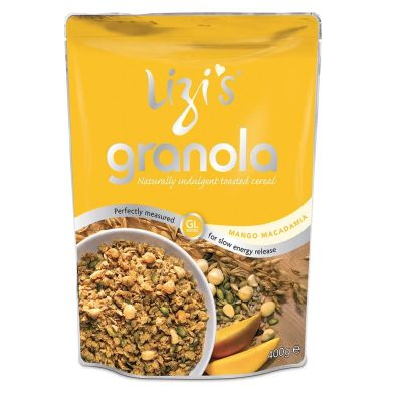 Musli Granola Mango si Nuci Macadamia (400 grame), Unicorn Naturals