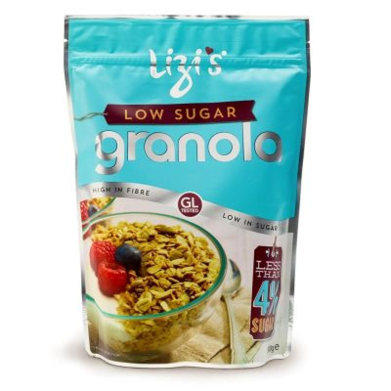 Musli Granola Lizi's Low Sugar cu Nuca de Cocos (400 grame), Unicorn Naturals