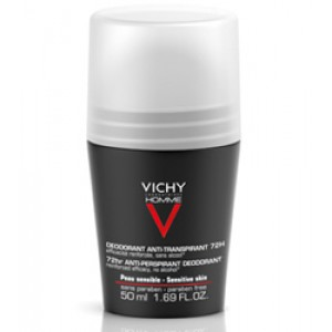 Vichy, Homme Deo Roll oncontrol extrem eficacitate 72H (50 ml)