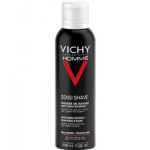 Vichy, Homme Spumă pentru bărbierit anti-iritaţii (200 ml)