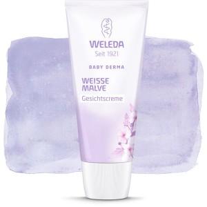 Baby Derma Cremă Facială cu Nalbă Albă (50 ml), Weleda