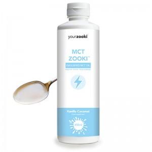 MCT Zooki, Ulei MCT emulsifiat Vanilla-Coconut (450ml), Yourzooki