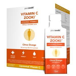 Vitamin C, Liposomal (30 pliculete), YourZooki