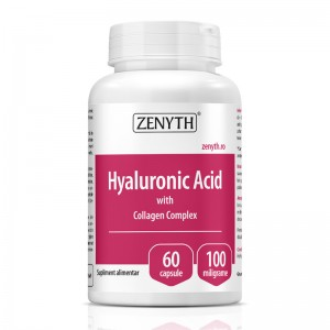 Acid Hyaluronic cu Collagen Complex 700 mg (60 capsule), Zenyth Pharmaceuticals