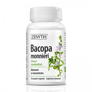 Bacopa Monnieri (30 capsule), Zenyth Pharmaceuticals