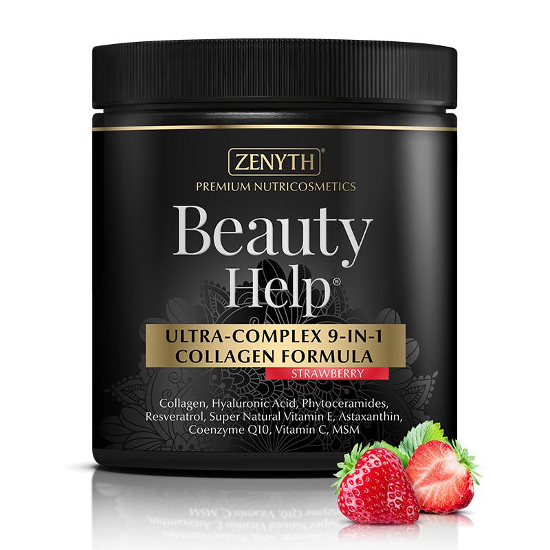 Beauty Help cu aroma de capsuni 300 grame, Zenyth Pharmaceuticals