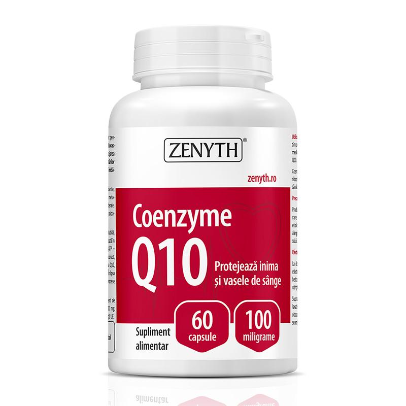 Coenzyme Q10 100 mg (60 capsule), Zenyth Pharmaceuticals