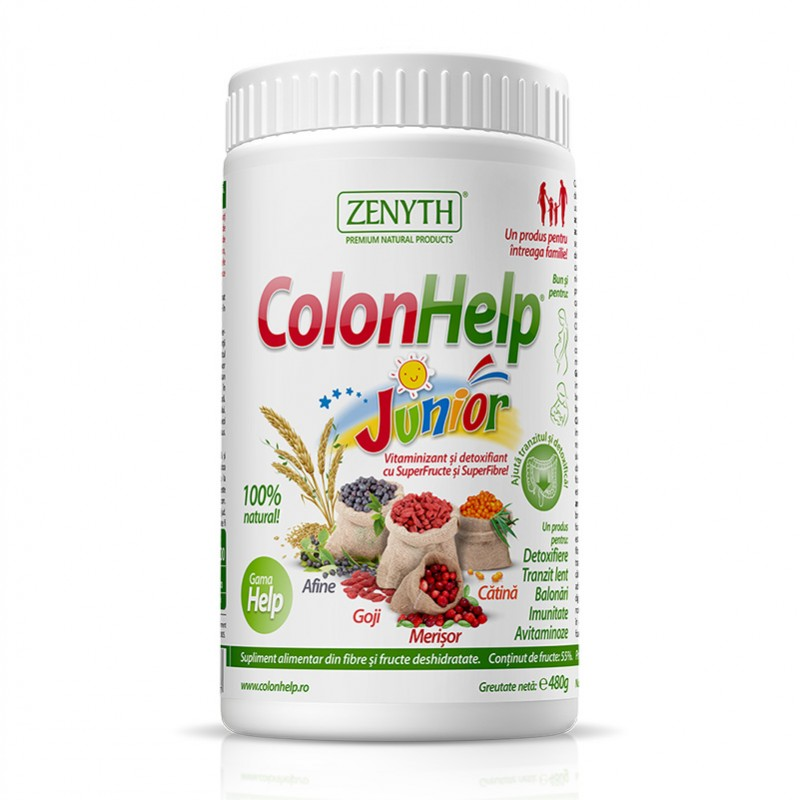 ColonHelp Junior 480 grame, Zenyth Pharmaceuticals