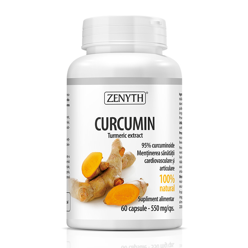 Curcumin 550 mg (60 capsule), Zenyth Pharmaceuticals