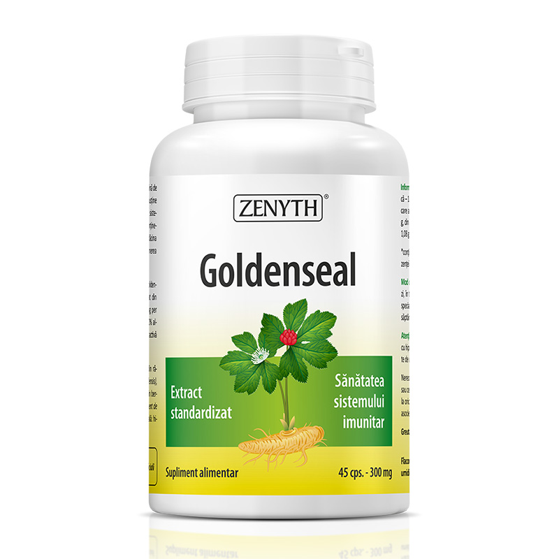 Goldenseal 300 mg (45 capsule), Zenyth Pharmaceuticals