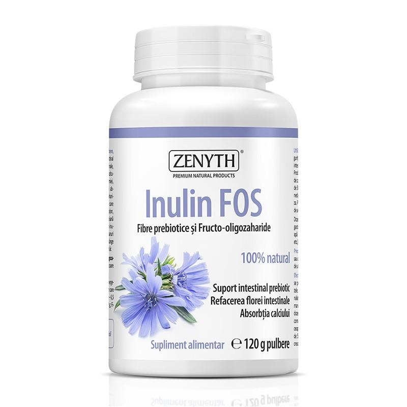 Inulin FOS 120 grame, Zenyth Pharmaceuticals