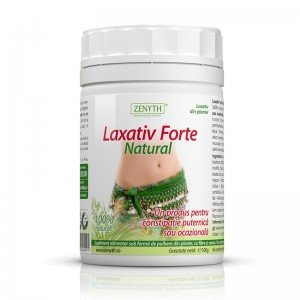 Laxativ Forte Natural 100 grame, Zenyth Pharmaceuticals