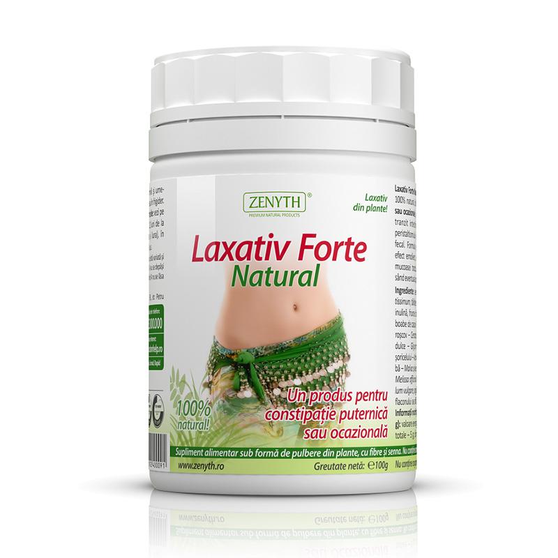 Laxativ Forte Natural 100 grame, Zenyth Pharmaceuticals