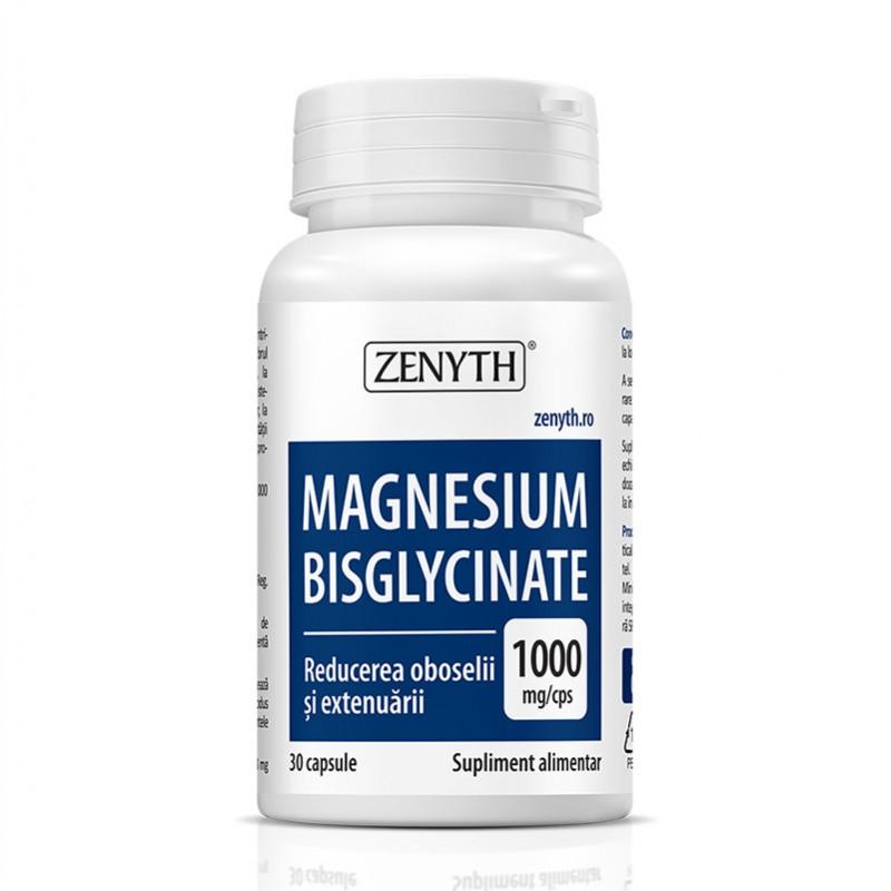 Magnesium Bisglycinate (30 capsule), Zenyth Pharmaceuticals