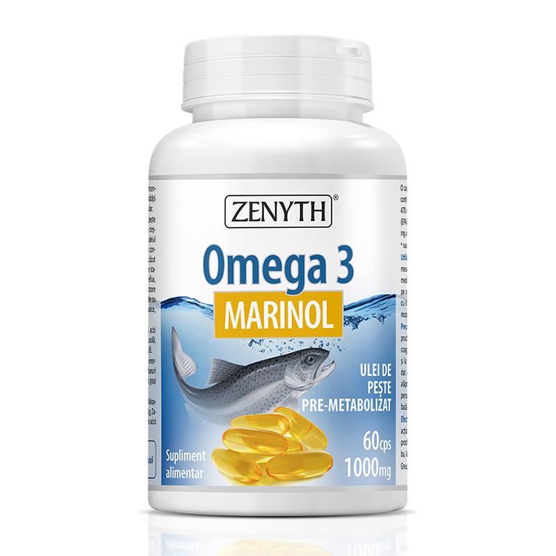 Omega 3 Marinol 1000 mg (60 capsule), Zenyth Pharmaceuticals