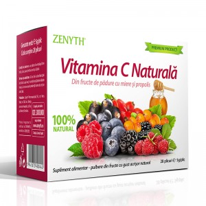 Vitamina C Naturala 5 grame (28 plicuri), Zenyth Pharmaceuticals