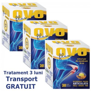 Pachet OVOflex (3 x 30 comprimate) - Transport gratuit